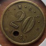 М.О.С. 20 коп. (Маньчжурское общественное собрание)